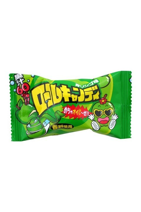 Roll Candy Green Apple